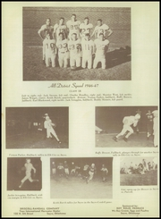 Page 56, 1947 Edition, Sayre High School - Eagle Yearbook (Sayre, OK) online yearbook collection