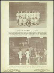 Page 58, 1947 Edition, Sayre High School - Eagle Yearbook (Sayre, OK) online yearbook collection