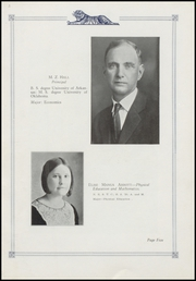 Page 9, 1929 Edition, Commerce High School - Bengal Tales Yearbook (Commerce, OK) online yearbook collection