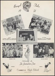 Page 7, 1951 Edition, Commerce High School - Bengal Tales Yearbook (Commerce, OK) online yearbook collection