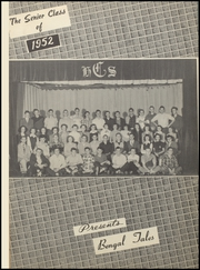 Page 5, 1952 Edition, Commerce High School - Bengal Tales Yearbook (Commerce, OK) online yearbook collection