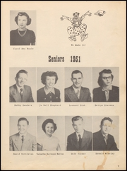 Page 13, 1951 Edition, Walters High School - Blue Devil Yearbook (Walters, OK) online yearbook collection
