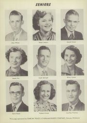 Page 10, 1952 Edition, Velma Alma High School - Hurricane Yearbook (Velma, OK) online yearbook collection