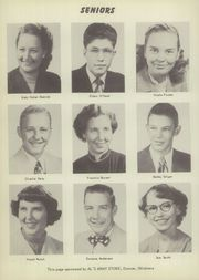 Page 12, 1952 Edition, Velma Alma High School - Hurricane Yearbook (Velma, OK) online yearbook collection