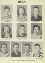 Page 13, 1952 Edition, Velma Alma High School - Hurricane Yearbook (Velma, OK) online yearbook collection