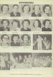 Page 17, 1952 Edition, Velma Alma High School - Hurricane Yearbook (Velma, OK) online yearbook collection