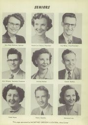 Page 9, 1952 Edition, Velma Alma High School - Hurricane Yearbook (Velma, OK) online yearbook collection