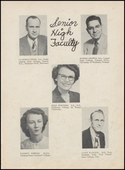 Page 13, 1953 Edition, Velma Alma High School - Hurricane Yearbook (Velma, OK) online yearbook collection