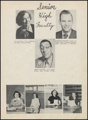 Page 15, 1953 Edition, Velma Alma High School - Hurricane Yearbook (Velma, OK) online yearbook collection