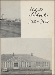 Page 9, 1953 Edition, Velma Alma High School - Hurricane Yearbook (Velma, OK) online yearbook collection