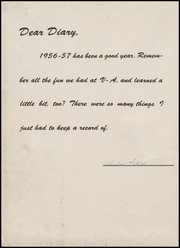 Page 6, 1957 Edition, Velma Alma High School - Hurricane Yearbook (Velma, OK) online yearbook collection