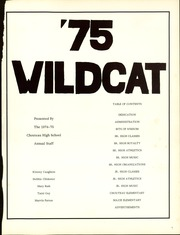 Page 5, 1975 Edition, Chouteau High School - Wildcat Yearbook (Chouteau, OK) online yearbook collection