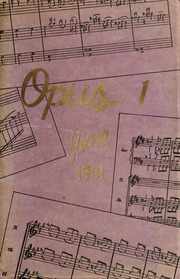 1941 Edition, Arthur Jordan Conservatory of Music - Opus Yearbook (Indianapolis, IN)