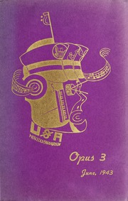 1943 Edition, Arthur Jordan Conservatory of Music - Opus Yearbook (Indianapolis, IN)