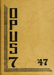 1947 Edition, Arthur Jordan Conservatory of Music - Opus Yearbook (Indianapolis, IN)