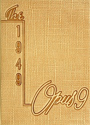 1949 Edition, Arthur Jordan Conservatory of Music - Opus Yearbook (Indianapolis, IN)