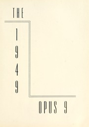 Page 5, 1949 Edition, Arthur Jordan Conservatory of Music - Opus Yearbook (Indianapolis, IN) online yearbook collection