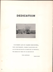 Page 6, 1956 Edition, Colbert High School - Leopard Yearbook (Colbert, OK) online yearbook collection