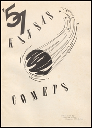 Page 5, 1957 Edition, Kansas High School - Comet Yearbook (Kansas, OK) online yearbook collection