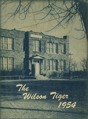 1954 Edition, Wilson High School - Tiger Yearbook (Wilson, OK)