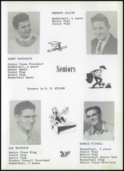 Page 15, 1957 Edition, Wilson High School - Tiger Yearbook (Wilson, OK) online yearbook collection