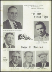 Page 7, 1957 Edition, Wilson High School - Tiger Yearbook (Wilson, OK) online yearbook collection