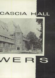 Page 7, 1957 Edition, Cascia Hall High School - Towers (Tulsa, OK) online yearbook collection
