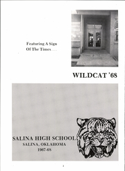 Page 6, 1968 Edition, Salina High School - Wildcat Yearbook (Salina, OK) online yearbook collection