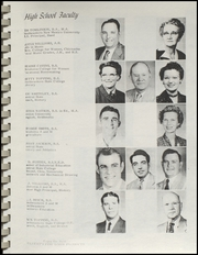 Page 11, 1955 Edition, Ringling High School - Blue Devil Yearbook (Ringling, OK) online yearbook collection