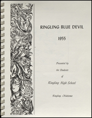 Page 5, 1955 Edition, Ringling High School - Blue Devil Yearbook (Ringling, OK) online yearbook collection