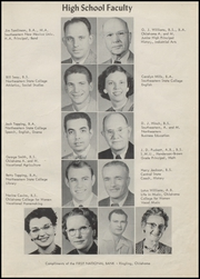 Page 11, 1956 Edition, Ringling High School - Blue Devil Yearbook (Ringling, OK) online yearbook collection