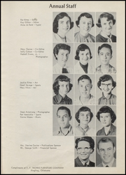 Page 15, 1956 Edition, Ringling High School - Blue Devil Yearbook (Ringling, OK) online yearbook collection