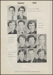 Page 16, 1956 Edition, Ringling High School - Blue Devil Yearbook (Ringling, OK) online yearbook collection