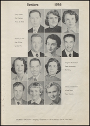 Page 17, 1956 Edition, Ringling High School - Blue Devil Yearbook (Ringling, OK) online yearbook collection