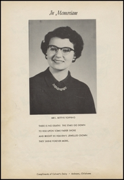 Page 8, 1957 Edition, Ringling High School - Blue Devil Yearbook (Ringling, OK) online yearbook collection