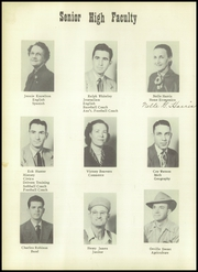 Page 8, 1952 Edition, Snyder High School - Cyclone Yearbook (Snyder, OK) online yearbook collection