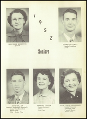 Page 9, 1952 Edition, Snyder High School - Cyclone Yearbook (Snyder, OK) online yearbook collection