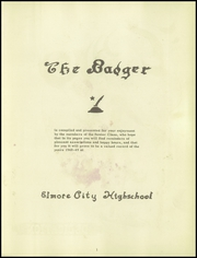 Page 5, 1949 Edition, Elmore City High School - Badger Yearbook (Elmore City, OK) online yearbook collection