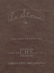 1925 Edition, Crescent High School - Memoralia Yearbook (Crescent, OK)