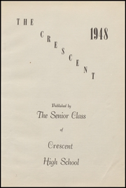 Page 9, 1948 Edition, Crescent High School - Memoralia Yearbook (Crescent, OK) online yearbook collection