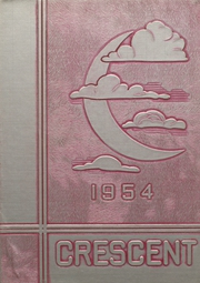 1954 Edition, Crescent High School - Memoralia Yearbook (Crescent, OK)