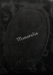 1958 Edition, Crescent High School - Memoralia Yearbook (Crescent, OK)