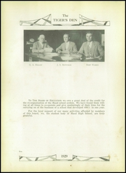 Page 14, 1929 Edition, Maud High School - Tigers Den Yearbook (Maud, OK) online yearbook collection