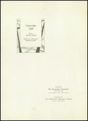 Page 6, 1929 Edition, Maud High School - Tigers Den Yearbook (Maud, OK) online yearbook collection