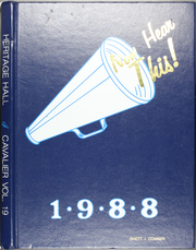 1988 Edition, Heritage Hall School - Cavalier Yearbook (Oklahoma City, OK)