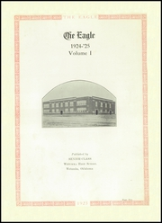 Page 7, 1925 Edition, Wetumka High School - Eagle Yearbook (Wetumka, OK) online yearbook collection