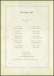 Page 12, 1927 Edition, Wetumka High School - Eagle Yearbook (Wetumka, OK) online yearbook collection