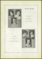 Page 14, 1927 Edition, Wetumka High School - Eagle Yearbook (Wetumka, OK) online yearbook collection
