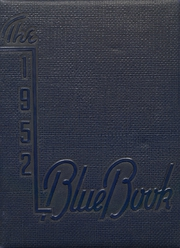 1952 Edition, Hooker High School - Bluebook Yearbook (Hooker, OK)