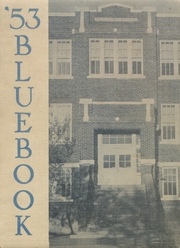 1953 Edition, Hooker High School - Bluebook Yearbook (Hooker, OK)